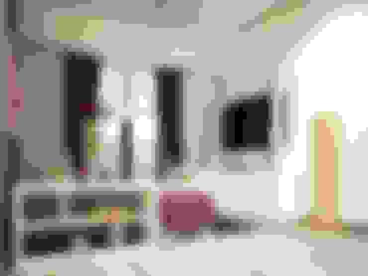 Salas de entretenimiento de estilo  por Zono Interieur