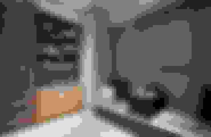豐邑晴空匯:  走廊 & 玄關 by 立禾空間設計有限公司