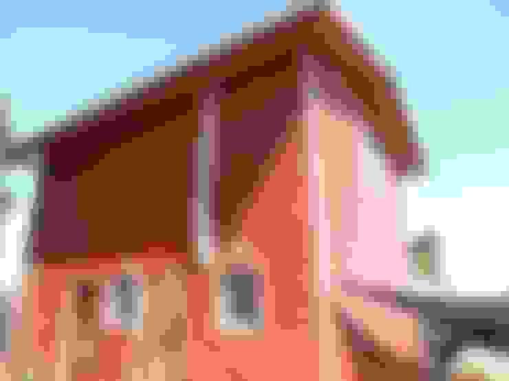Inspección de obra ejecución proyecto de Acondicionamiento Térmico de viviendas existentes.:  de estilo  por Ecosustenta. Arquitectura Ingenierìa y Construcciòn Sustentable