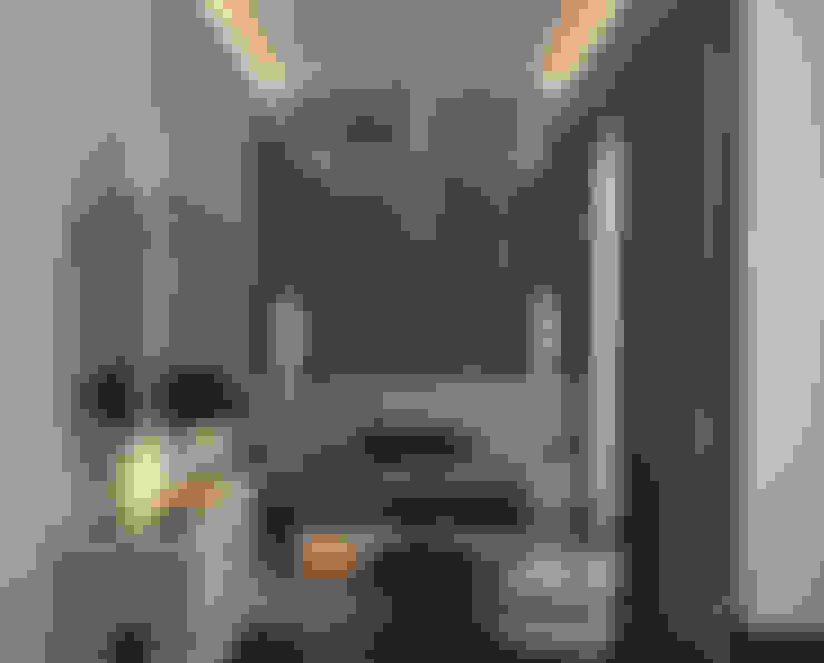 غرفة نوم تنفيذ Архитектурное бюро 'Дом-А'