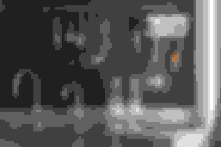 天母曹宅:  廚房 by 直方設計有限公司