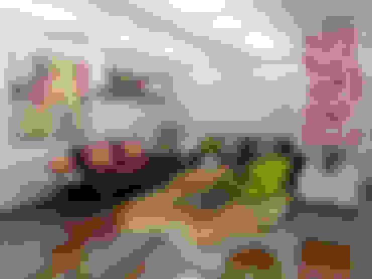 Ciudad Salitre Occidental: Salas de estilo  por Omar Interior Designer  Empresa de  Diseño Interior, remodelacion, Cocinas integrales, Decoración