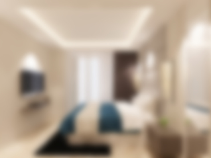 Studio Apartment - Art Deco:  Kamar Tidur by iugo design