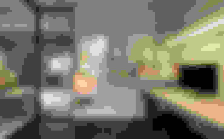 開放式書架展示你的藏書:  書房/辦公室 by 磨設計