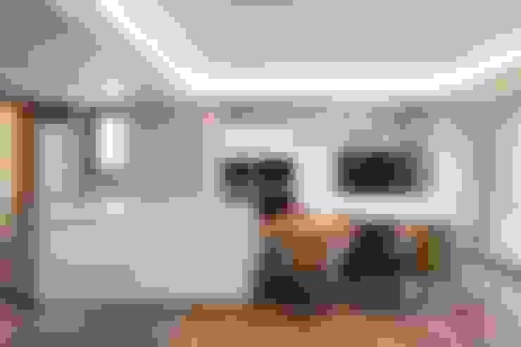 غرفة السفرة تنفيذ 千屹設計有限公司