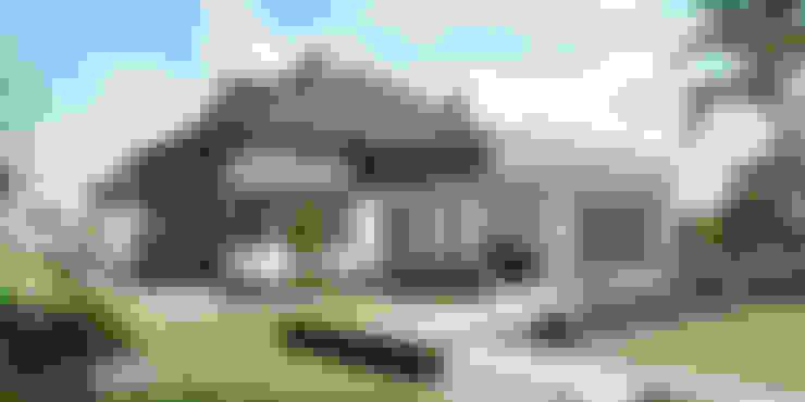 Projekt domu HomeKONCEPT 46: styl , w kategorii  zaprojektowany przez HomeKONCEPT   Projekty Domów Nowoczesnych