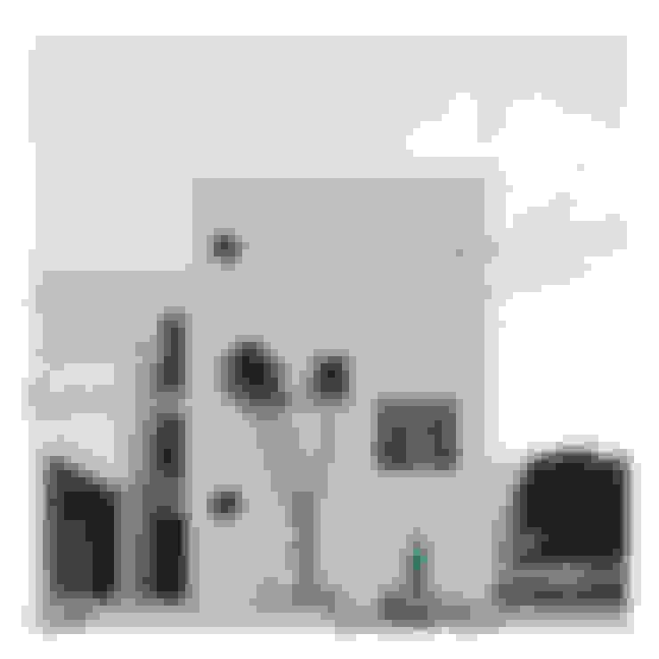 Tampak Depan Ahouse 3:  Rumah by studiopapa