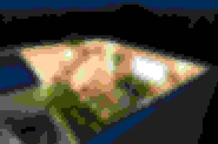 Hiên, sân thượng by オレンジハウス