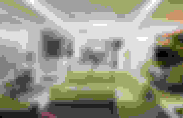 غرفة المعيشة تنفيذ VOBOL ARQUITETURA E INTERIORES