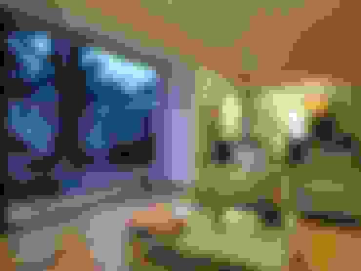 CASA BELLO HORIZONTE: Livings de estilo  por [ER+] Arquitectura y Construcción