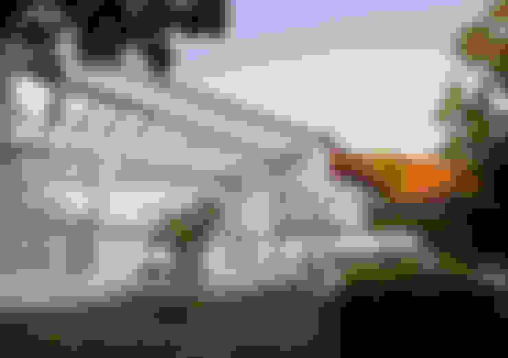CASA CARREÑO: Casas de estilo  por [ER+] Arquitectura y Construcción