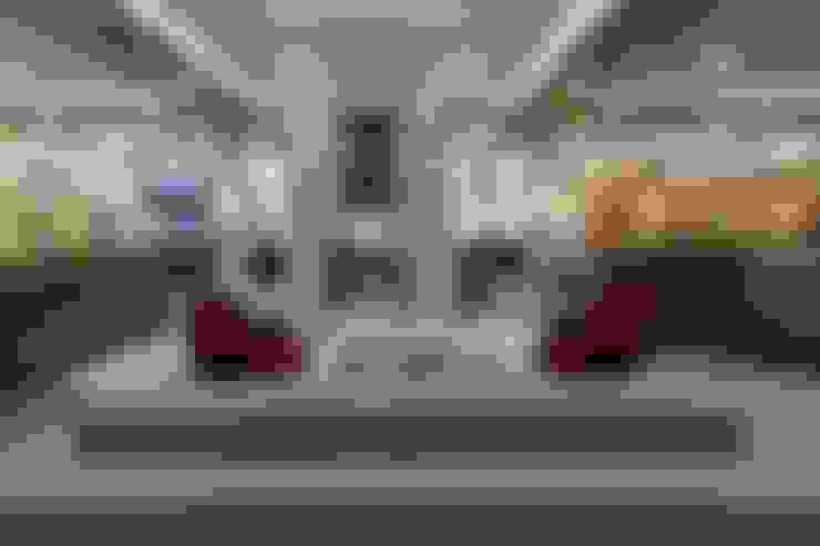 Living room تنفيذ S. T. Unicom Pvt. Ltd.