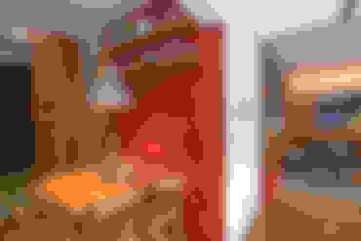 Apartamento Gávea: Salas de jantar  por Espaço Tania Chueke