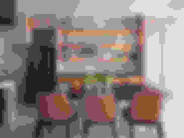 L House / Interior Design:  餐廳 by 三石設計工程行