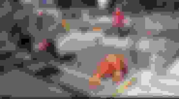 Construcción de Vivienda en Reñaca: Paredes de estilo  por Eracón