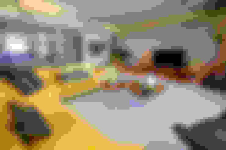 Living room تنفيذ Paradigm Design House