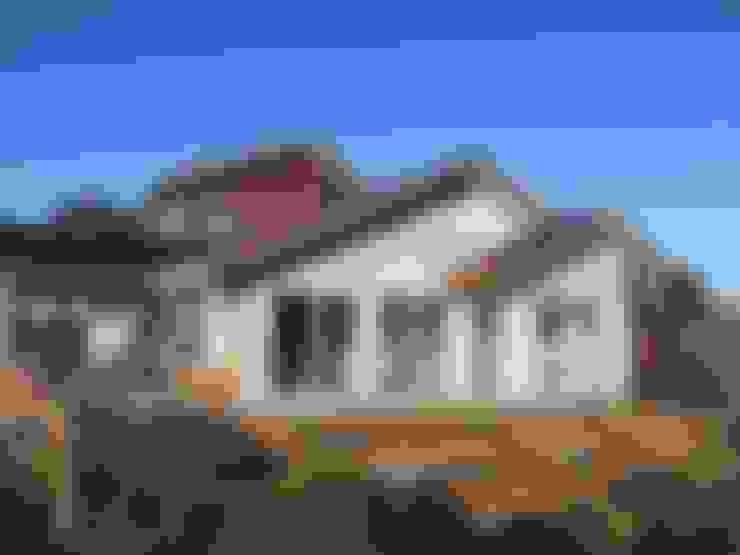 Casa botrolhue 150 m2: Casas unifamiliares de estilo  por AEG Arquitectura, Asesoría y Construcción.