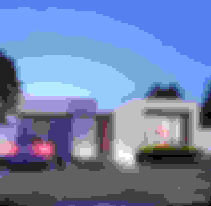 Casas de estilo  por 3C Arquitectos S.A. de C.V.