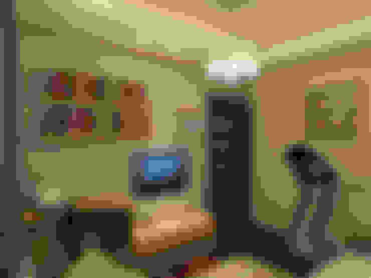 living room render 3 :  غرفة المعيشة تنفيذ Quattro designs