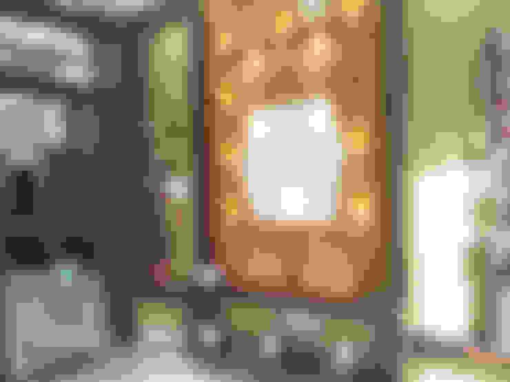 Sunil ji Kalyani :  Living room by MAA ARCHITECTS & INTERIOR DESIGNERS