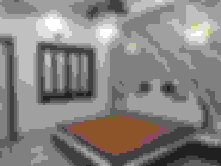 Sunil ji Kalyani :  Bedroom by MAA ARCHITECTS & INTERIOR DESIGNERS