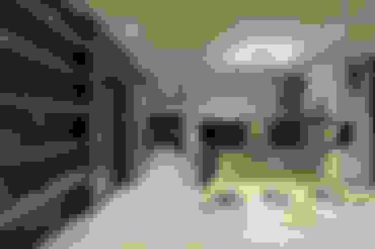 漫畫隧道私宅遊:  餐廳 by DIANTHUS 康乃馨室內設計