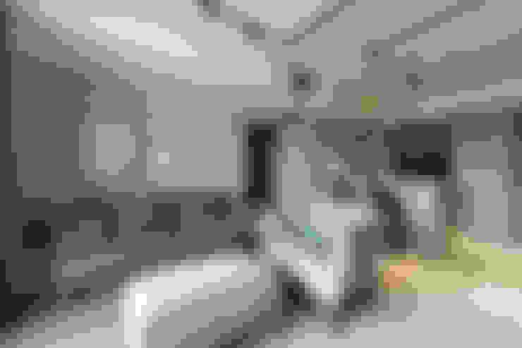 غرفة المعيشة تنفيذ E&K宜客設計