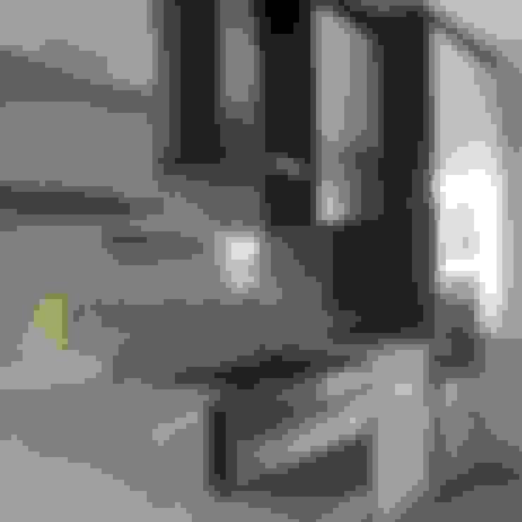置入式廚房 by Première Interior Designs