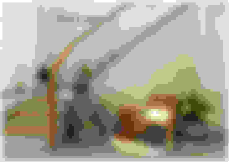 Tầng trệt:  Hành lang by Công ty cổ phần đầu tư xây dựng Không Gian Đẹp