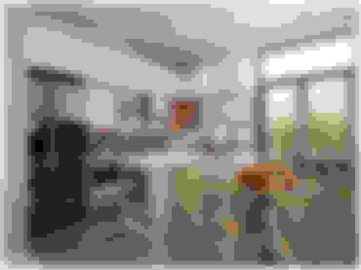 Kitchen by Công ty cổ phần đầu tư xây dựng Không Gian Đẹp