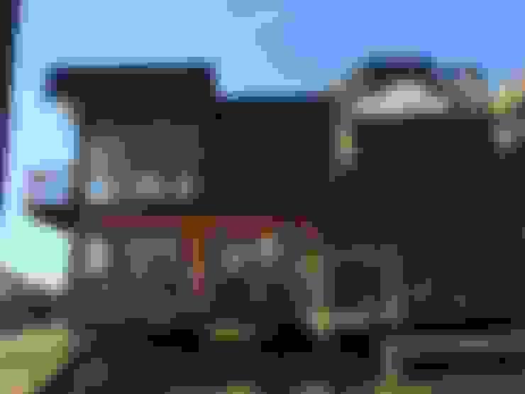 Cabaña Catrianca, Pichilemu: Casas de estilo  por EstradaMassera Arquitectura