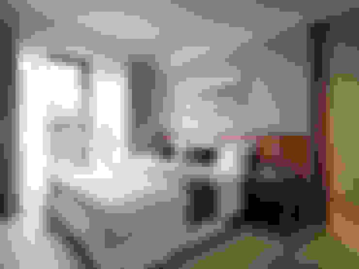 金山南路新婚宅:  臥室 by 星葉室內裝修有限公司