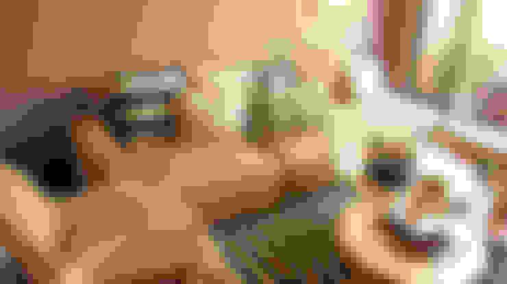 CEDRITOS: Salones de estilo  por D Interior
