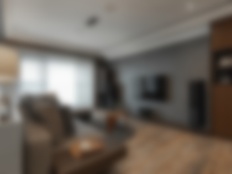 Salas de estar  por 存果空間設計有限公司