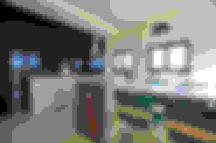 綠海之境,一步之遙:  餐廳 by 青川室內設計有限公司