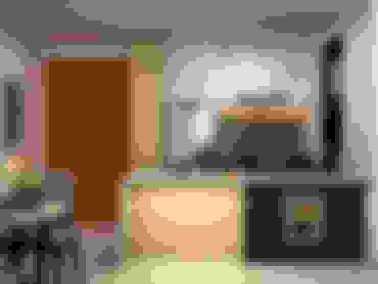 Thiết kế nội thất căn hộ chung cư nhà anh Phú - Masteri Thảo Điền:   by Nội Thất Hoàng Gia