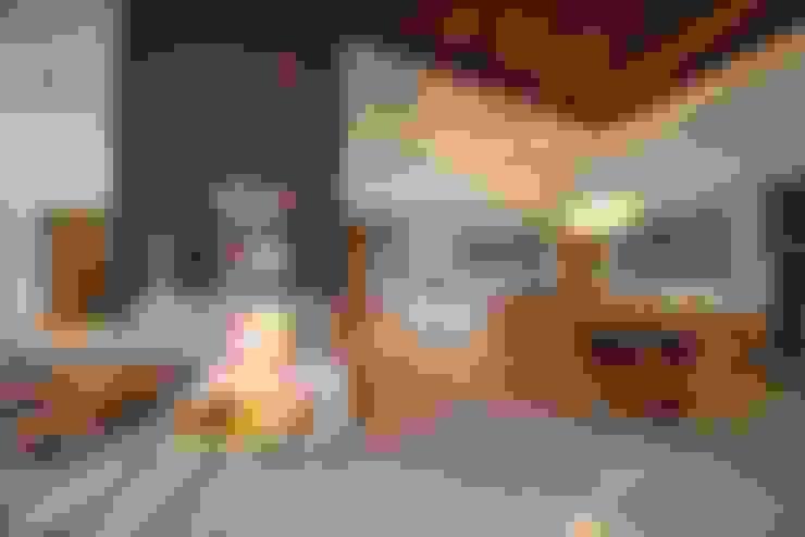 غرفة السفرة تنفيذ Danielle Valente Arquitetura e Interiores
