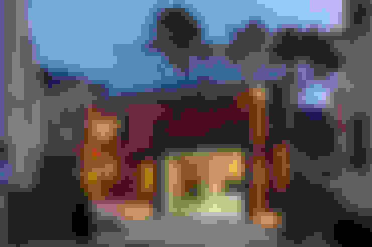 Casas de estilo  por (주)유타건축사사무소