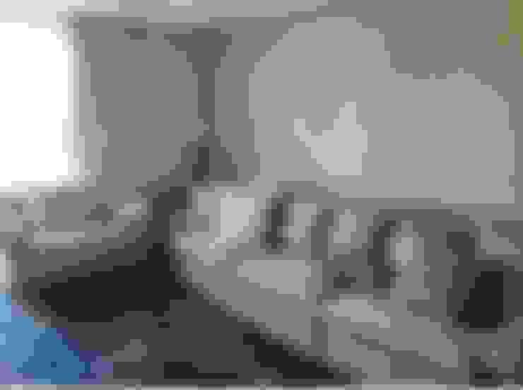 Living room by Guaraúna Revestimentos