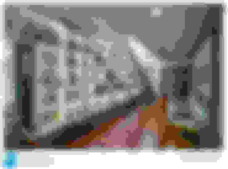 Couloir et hall d'entrée de style  par Excelencia en Diseño