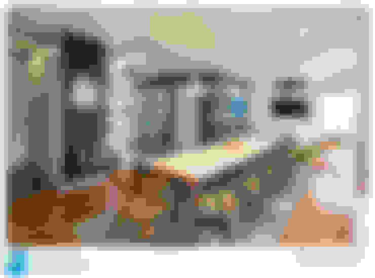 Salle à manger de style  par Excelencia en Diseño