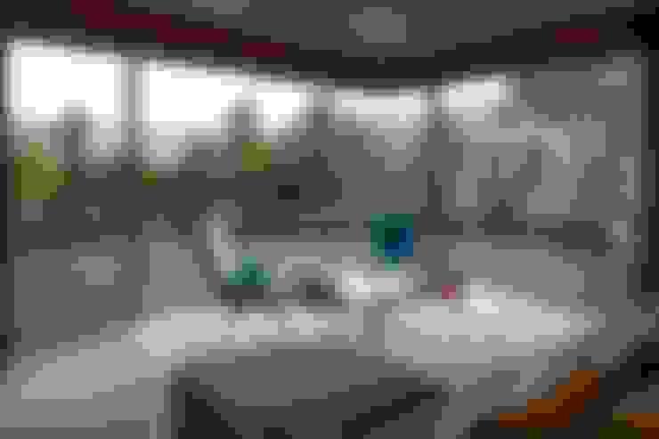 Livings de estilo  por MJARC - Arquitectos Associados, lda