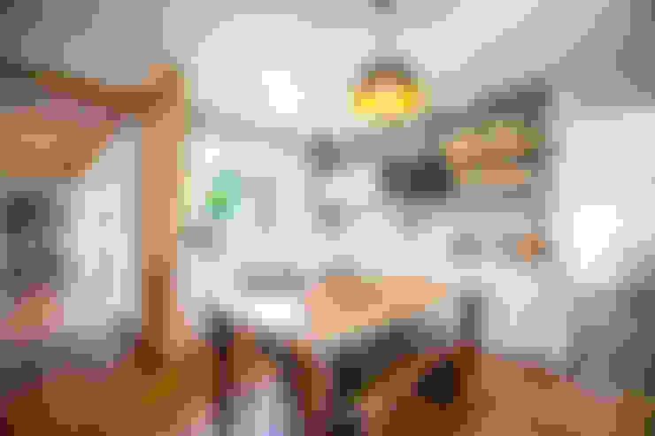 廚房 by 건축스튜디오 사람