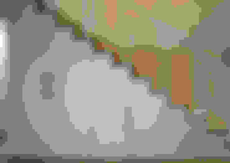 樓梯 by 틔움건축