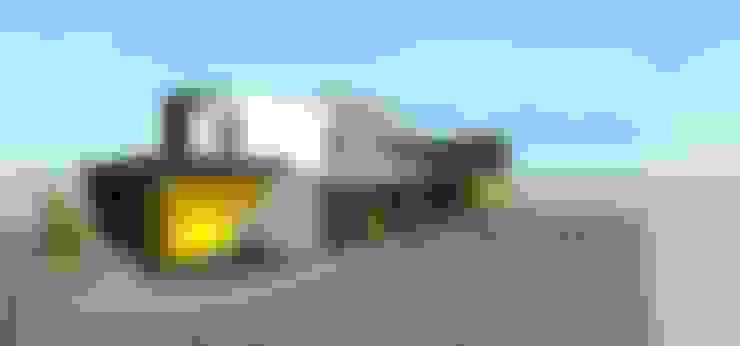 Casas unifamiliares de estilo  por MARATEA Estudio