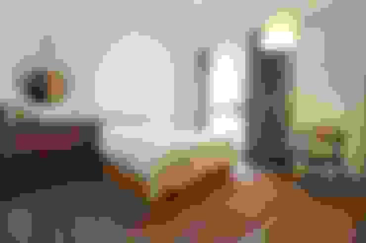 主臥:  臥室 by 禾廊室內設計