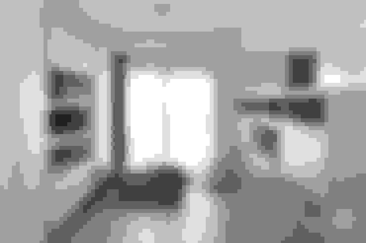 噴漆與大理石:  書房/辦公室 by 禾廊室內設計
