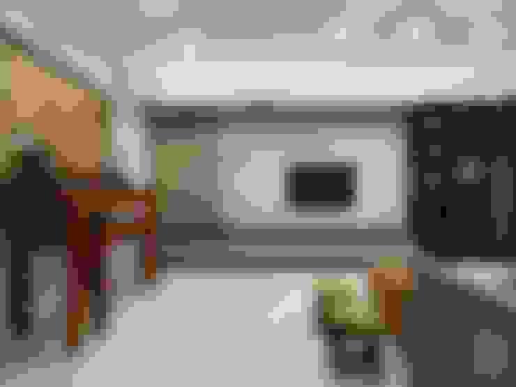 Salas / recibidores de estilo  por 禾廊室內設計