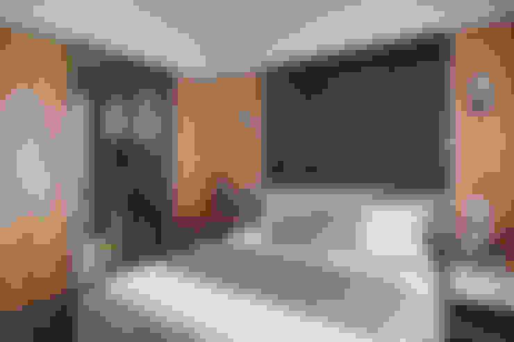 直線-穩.和:  臥室 by 珍品空間設計 | JP SPACE  DESIGN STUDIO