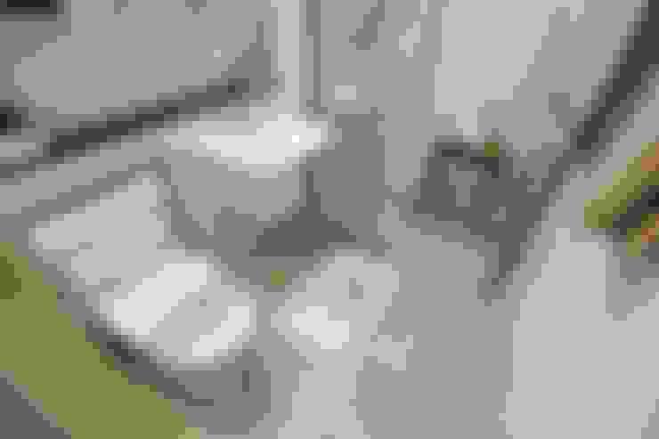 부산 호텔을 컨셉으로한 24평 아파트(2): 노마드디자인 / Nomad design의  욕실